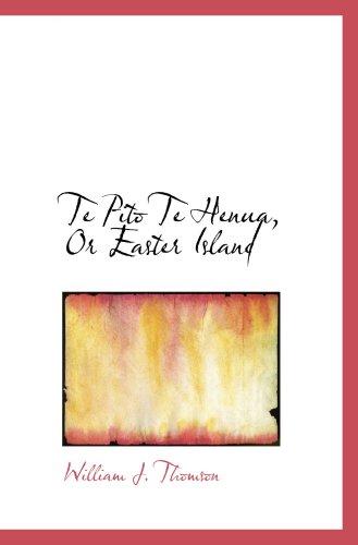 Te Pito Te Henua, Or Easter Island
