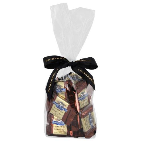 Ghirardelli Chocolate Pumpkin Spice Caramel SQUARES
