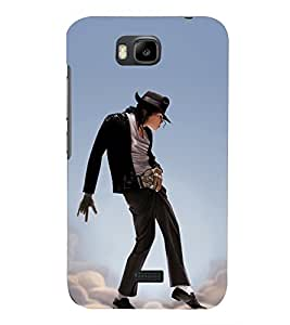 PRINTSHOPPII MICHAEL JACKSON Back Case Cover for Huawei Honor Bee::Huawei Y5C