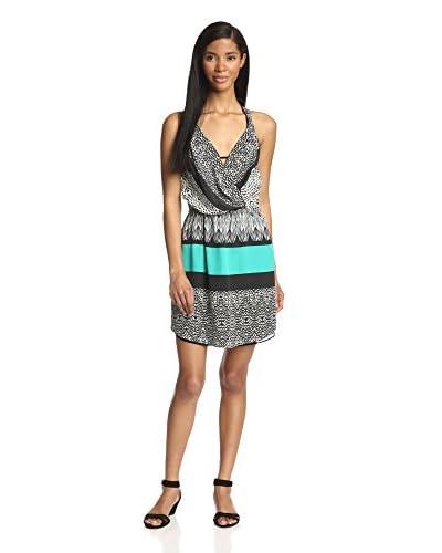 ViX Women's Sawi Livia Short Dress  [Aqua]