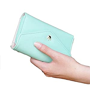 Mixeshop women's lovely wallet blue