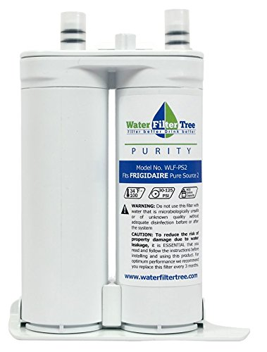 Frigidaire WF2CB - WLF-PS2 Water filter for Refrigerator compatible with Electrolux EWF2CBPA, Kenmore 46-9911, PureAdvantage, FC100, SWF2CB, NGFC-2000 (Kenmore Fridge Filter 9911 compare prices)