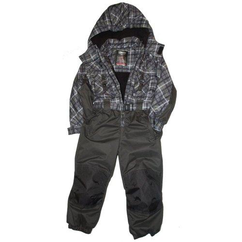 Outburst - ski-overall / one-piece, boys, grey