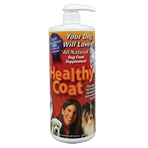 Healthy coat all natural dog food supplement 16fl oz for All natural pet cuisine