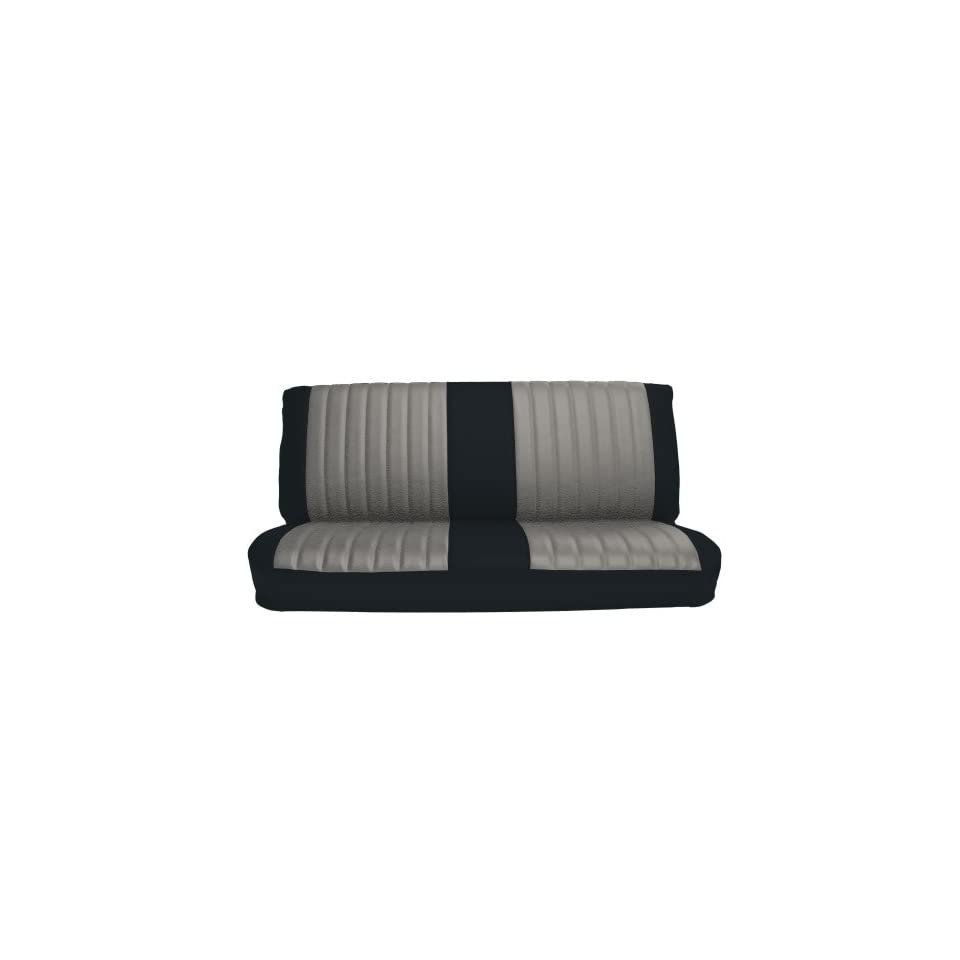 Acme U2002-P775M Front Palomino Vinyl Bench Seat Upholstery with Sandstone Velour Inserts