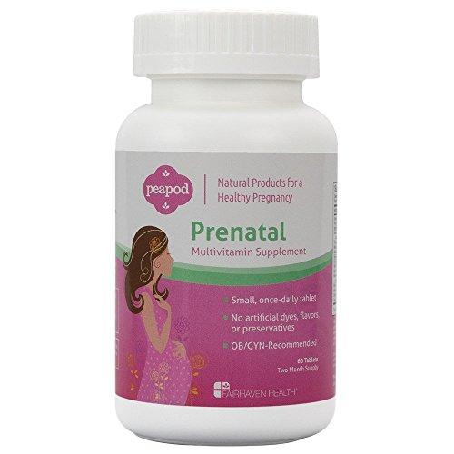 PeaPod Prenatal Multivitamins, 60 tablets