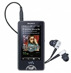 Sony NWZX1060B X Series 32GB MP4 Walkman with WiFi - Black