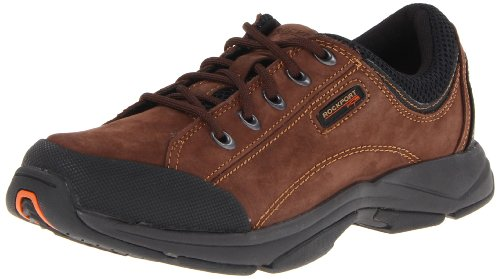 Rockport Men's Chranson Lace-Up,Dark Brown/Black,11 M US
