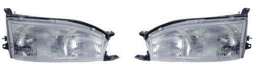 Fits 92 93 94 Toyota Camry Headlight Pair Set Both NEW Headlamp Front Driver and Passenger (94 Toyota Headlights compare prices)