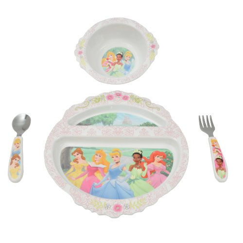 The First Years Feeding Set - Princess - 4 ct