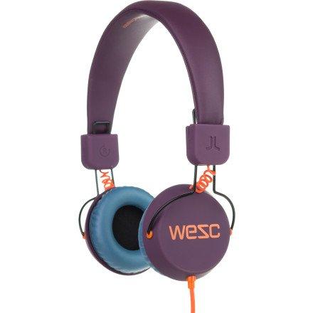 Wesc Piston Graphic Headphones Purple Grape, One Size