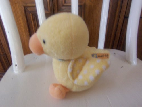 Carters Sweet Baby Duck Plush Rattle Lovey - 1