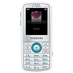 .com : Samsung Gravity T459 T-Mobile Cell Phone White : Cell Phones
