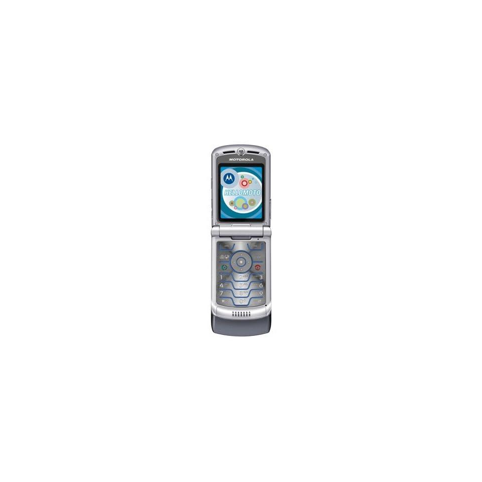 Motorola RAZR V3M CDMA Camera Flip Phone Gray Sprint (Used   B Stock)
