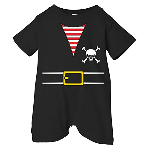 Pirates & Anchors Pirate Outfit Unisex Baby & Toddler T-Shirt Romper