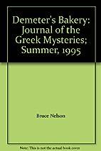 Demeter's Bakery: Journal of the Greek…