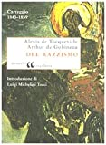 img - for Del razzismo. Carteggio (1843-1859) book / textbook / text book