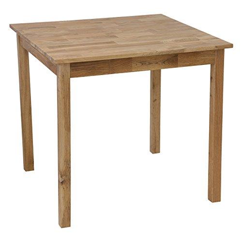 Tisch-LUCCA-80-x-80-cm-Eiche-massiv-Esszimmertisch-Kchentisch