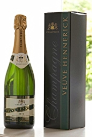 Veuve Hennerick Champagne Gift - Single Bottle