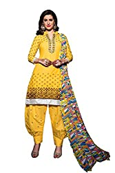 dhawani marketing new designer crismas vol yellow