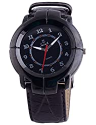 Saint Analogue Black Dial Men's Watch (A011)