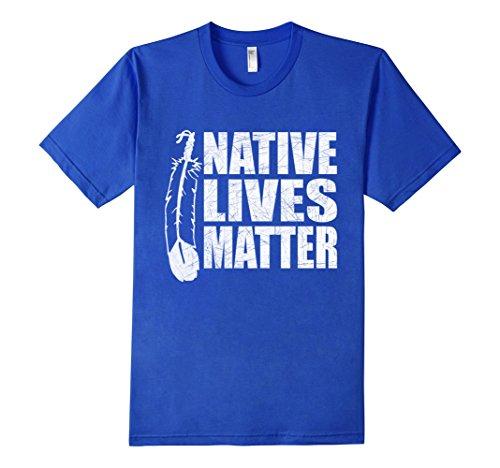native-american-native-lives-matter-nodapl-t-shirt-herren-grosse-m-konigsblau