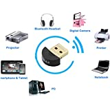 iAnder USB Bluetooth 4.0 Low Energy Adapter for Windows 98, 98se, Me, 2000, 7, XP, Vista Compatible Classic Bluetooth and Stereo Headset Compatible-(CSR8510 chips)