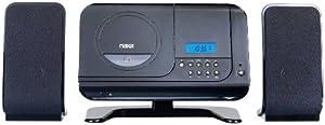 Naxa NSM-435 Digital MP3/CD Micro System with AM/FM Stereo Radio