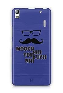 YuBingo Mooch Nahi to Kuch Nahin Mobile Case Back Cover for Lenovo K3 Note