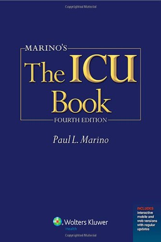 Marino'S The Icu Book: Print + Ebook With Updates (Icu Book (Marino)) front-998637