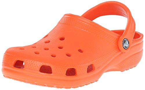 Crocs Classic, Zoccoli e Sabot Unisex Adulto, Rosso (Tang), 37/38 EU