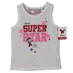 Minnie Mouse Disney Fashion Sleeveless Tank Top 3t -Super Star