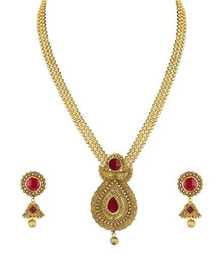 Zaveri-Pearls-Unique-Pattern-Necklace-Set-ZPFK4937