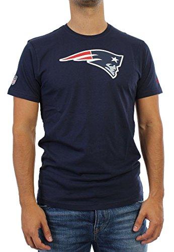 NEW ERA ne96196fa14Team Logo Tee neepat OSB-Maglietta maniche corta-línea New England Patriots per uomo, colore: blu, UOMO, Ne96196Fa14 Team Logo Tee Neepat Osb, blu, XXXL