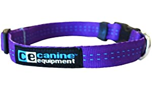 Canine Equipment Technika 3/4-Inch Utility Dog Clip Collar, X-Small, 8 to 12-Inch