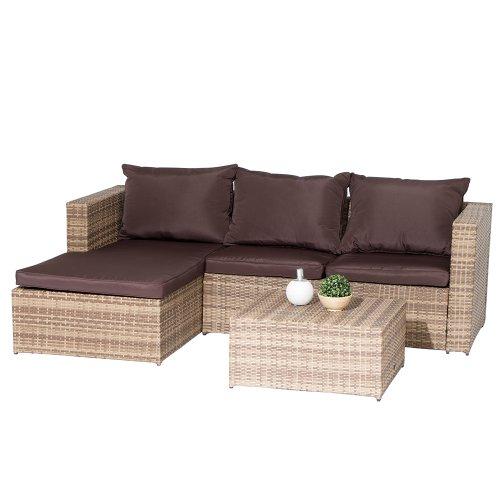 Siena-Garden-120227-Lounge-Set-Torino-Aluminium-Gestell-Gardino-Geflecht-sand-inklusive-Kissen-braun