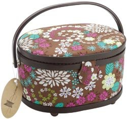 Dritz Oval Sewing Basket