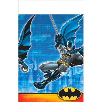 "Batman Plastic Tablecover 54"" x 96"""