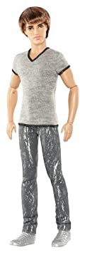Barbie Fashionistas Ryan Doll with Grey Jeans and Shirt by Mattel TOY (English Manual)
