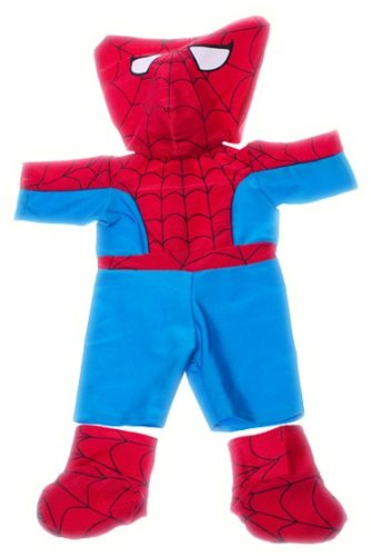 "Spidey Teddy Outfit Fits Most 8""-10"" Webkinz, Shining Star and 8""-10"" Make Your Own Stuffed Animals and Build-A-Bear"
