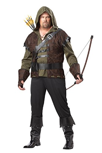 Adult Deluxe Robin Hood Costume Size XXL