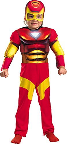 Morris Costumes Iron Man Toddler Muscle 2T
