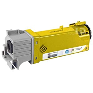 LD © Compatible Toner to replace Dell T108C High Yield Yellow Toner Cartridge for your Dell 2130cn & 2135cn Color Laser Printers
