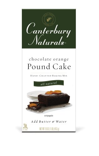 Canterbury Naturals Chocolate Orange Pound Cake Mix, 16-Ounce Packages (Pack of 6)