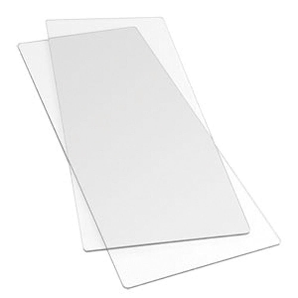 Sizzix - Planchas para estampar en tejido (tamaño grande)   Más información y comentarios de clientes