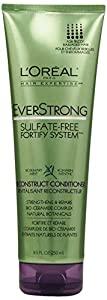L'Oreal Paris EverStrong Sulfate-Free Fortify System Reconstruct Conditioner, 8.5 Fluid Ounce