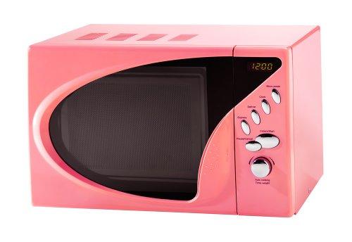 Pink Digital Microwave Oven 20 L