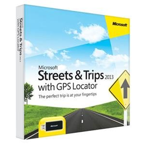 Microsoft Streets and Trips 2013 with GPS (United States and Canada)