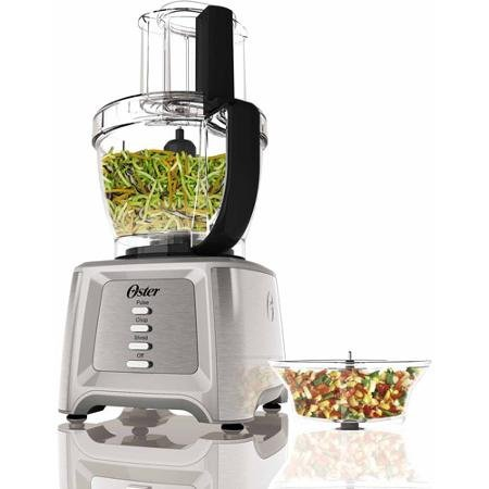 Designed for Life 14-cup Food Processor Professional Grade 550 Watt Motor with Preset Speeds for Pulse, Chop & Shred
