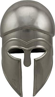 Red Deer Corinthian Style Greek Helmet